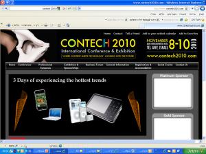 Contech Israel 2010